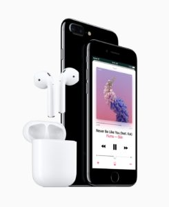 Iphone 7 audio jack features