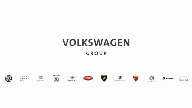 Car Companies Owned By Volkswagen Group