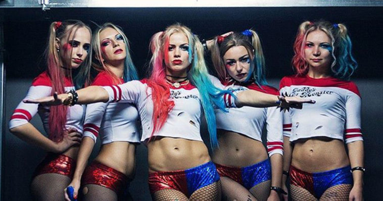 Harley Quinn Dance Cosplay Russian